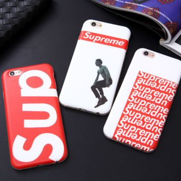 Fashion Supreme in Red & White for Iphone 6 6s 6 plus 6s plus On Sale