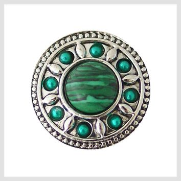 """Green Stone and Border 20 mm 3/4"""""""