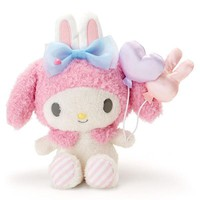 My Melody Plush Doll Strawberry Color Amusement Park Sanrio Japan - VeryGoods.JP