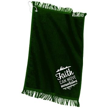 "Christian Gifts - ""Faith Can Move Mountains"" Towels"