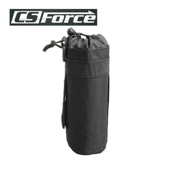 CS Force Molle Pouch Military Gear Military Pouches Airsoft Water Bottle Bags Waterproof Travel Bag Camping Kettle Holder Black