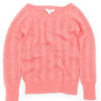 CABLE TEXTURED SWEATER