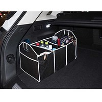 Multipurpose collapsible Car SUV/Trunk Organizer - Car SUV Trunk Storage