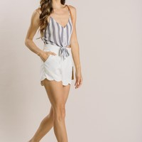 Mandi Scallop Shorts