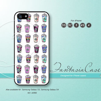 Starbucks coffee, iPhone 5 case, iPhone 5C Case, iPhone 5S case, Phone cases, iPhone 4 Case, iPhone 4S Case, iPhone case, FC-0582