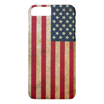Vintage American Flag iPhone 7 Plus Case
