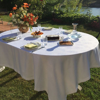 Pisa Tablecloth - Washable - Coated for Easy Care