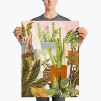 Playing For My Plants Poster