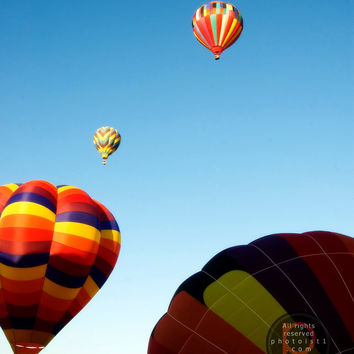 Take Off - Southwest, Hot Air Balloons, Fine Art Photography, Gallery Wrap or Print, Multiple Sizes