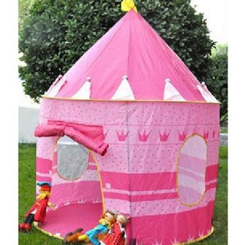 DCCKIX3 Fashion Children's Toys Gaming Play House Princess Castle Tent = 1945787396