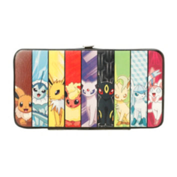Pokemon Eevee Evolution Hinge Wallet