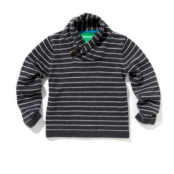 Stripe Toggle Sweater