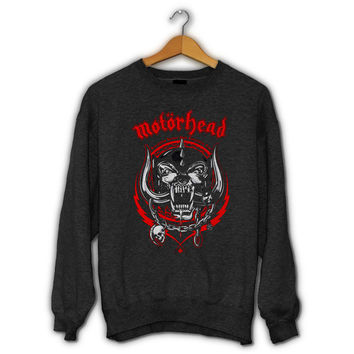 Motorhead Everything Louder Than Everyone Else Sweater I Official Merchandise For Mens and Womens