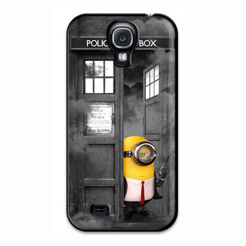 The Hitman Minion Tardis Box Samsung Galaxy S4 Case