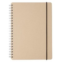 Recycled Paper Ring Dot Notebook A5