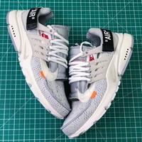 Off White X Nike Air Presto Silver Sport Running Shoes - Best Online Sale