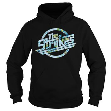 The strokes floral shirt Hoodie
