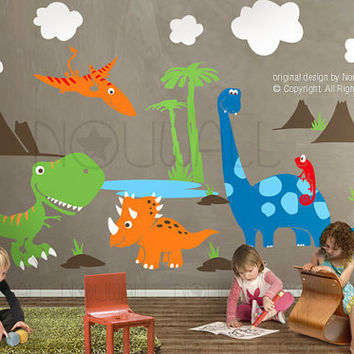 Children Wall Decal Wall Sticker Children Decal by NouWall on Etsy