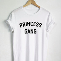 Princess Gang Shirt, Princess Tshirt, Womans Girls Adult Tee, Shirt, Princess Shirt, Tees, Group School Gift Present