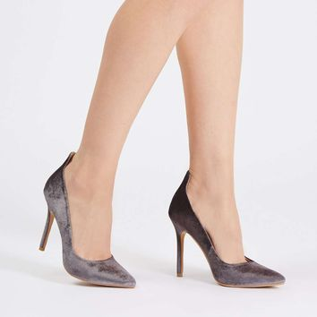 GARDENIA Velvet Court Shoes | Topshop