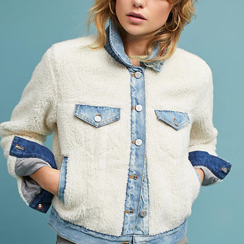 Faux Shearling Trucker Jacket