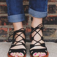 Fashionably Late Sandal