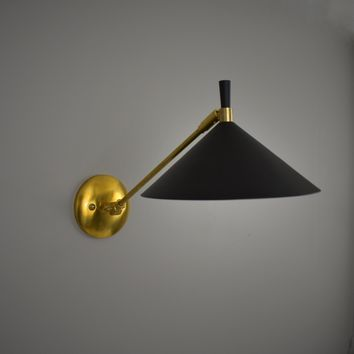 Mid Century Articulating Wall Sconce