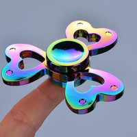 The new colorful clover Hand Spinner  EDC Toys