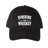 SUNSHINE & WHISKEY DAD HAT
