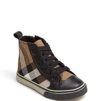 Toddler Boy's Burberry 'Tom' High Top Sneaker