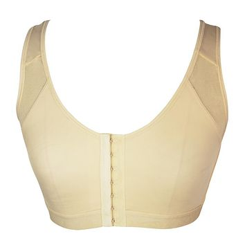 Women Post Surgical surgery Front Open Recovery Bra with adjustable shoulder strap Post Breast Augmentation Operative bra E08