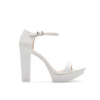 BLOCK HEEL PLATFORM SANDAL - Shoes - Woman | ZARA United States