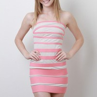 Striking Stripe Dress