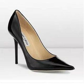 Jimmy Choo Women Fashion Pointed Toe Heels Shoes-8