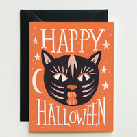 Rifle Paper Co. - Black Cat Halloween Card