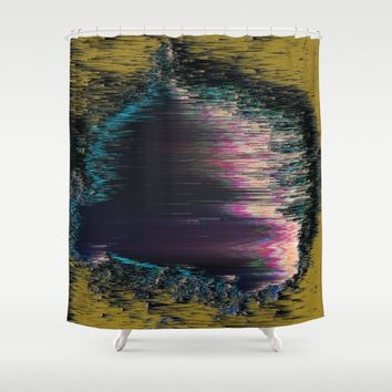 Nebula Shower Curtain by DuckyB