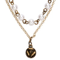Pearl Rose Long-Strand Necklace