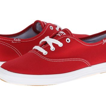 Keds Champion Red Canvas Sneaker