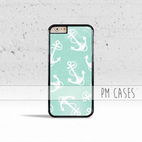 Serene Ocean Anchors Case Cover for Apple iPhone 4 4s 5 5s 5c 6 6s Plus & iPod Touch