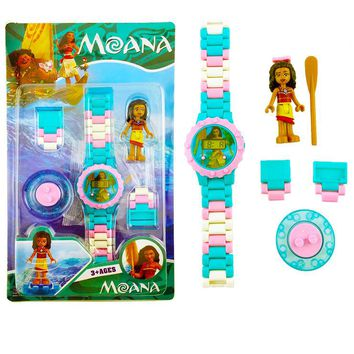 Hot DC Heroes Avengers Building Blocks Watch Figures Bricks For Children Gifts Toys Compatible With Legoingly Toys Moana Batman