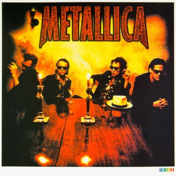 Metallica - At The Table - Decal
