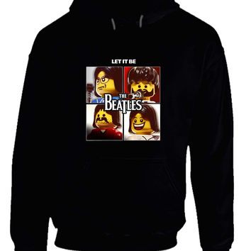 The Beatles Let It Be Lego Character Hoodie