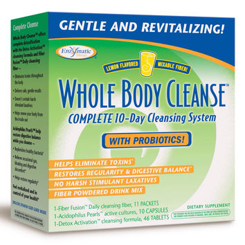 Enzymatic Therapy Whole Body Cleanse, Lemon 10 Day