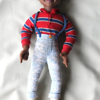 Vintage Talking Steve Urkel Doll