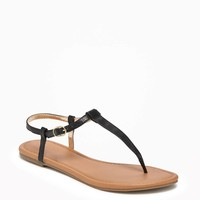 T-Strap Sandals for Women | Old Navy