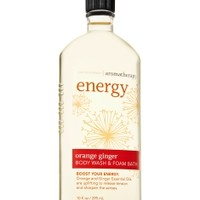 Energy - Orange Ginger Body Wash & Foam Bath   - Aromatherapy - Bath & Body Works