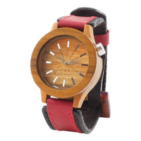 Halo Women's Wood Wrist Watch
