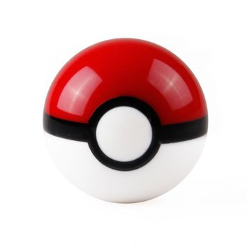 Universal High Quality Resin  Go PokeBall Car Manual Gear Shift Knob Lever Automobile Accessory Diameter 54mm M10/M8Kawaii Pokemon go  AT_89_9