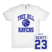 Nathan Scott Tree Hill Ravens 23 Shirt