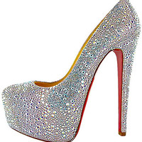 Crystal Platform High Heels